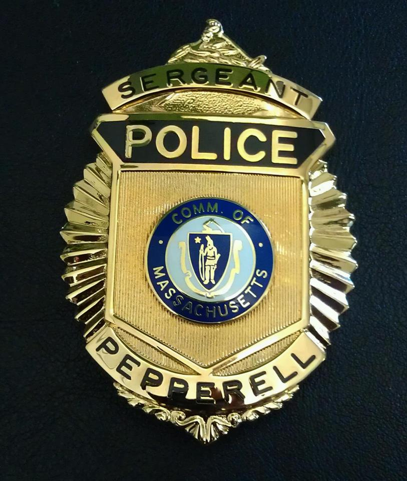 The Pepperell Police Badge